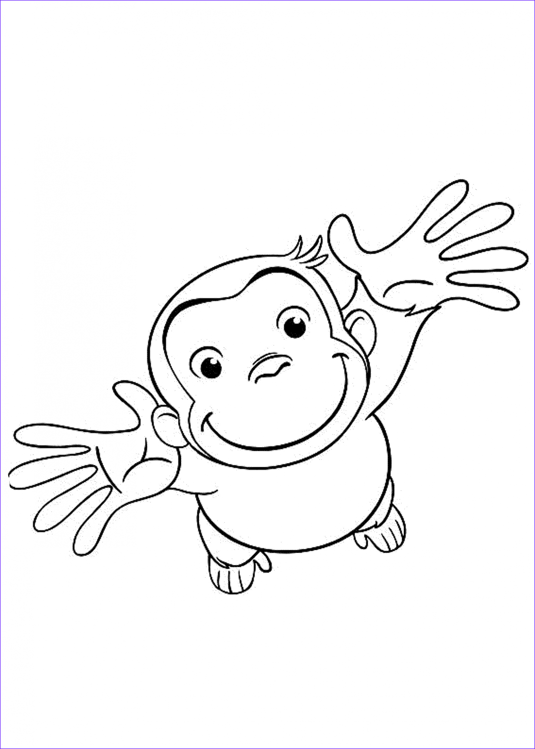 Printable Coloring Page Luxury Photos Curious George Coloring Pages Best Coloring Pages for Kids
