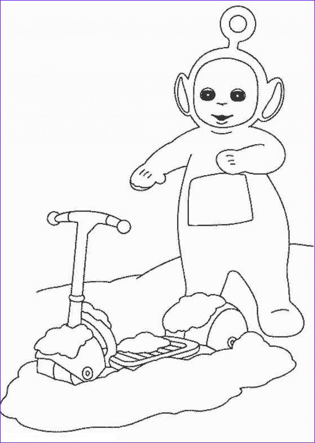 Printable Coloring Page New Collection Free Printable Teletubbies Coloring Pages for Kids