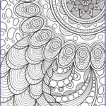 Printable Coloring Pages For Adults Abstract Awesome Gallery 4642 Best Zentangles Adult Colouring Images On Pinterest