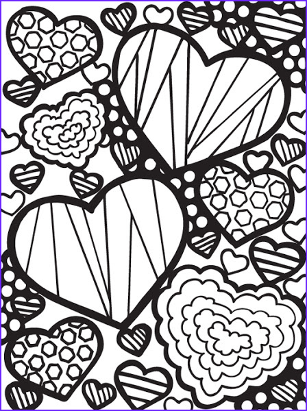 free printable abstract adult coloring pages
