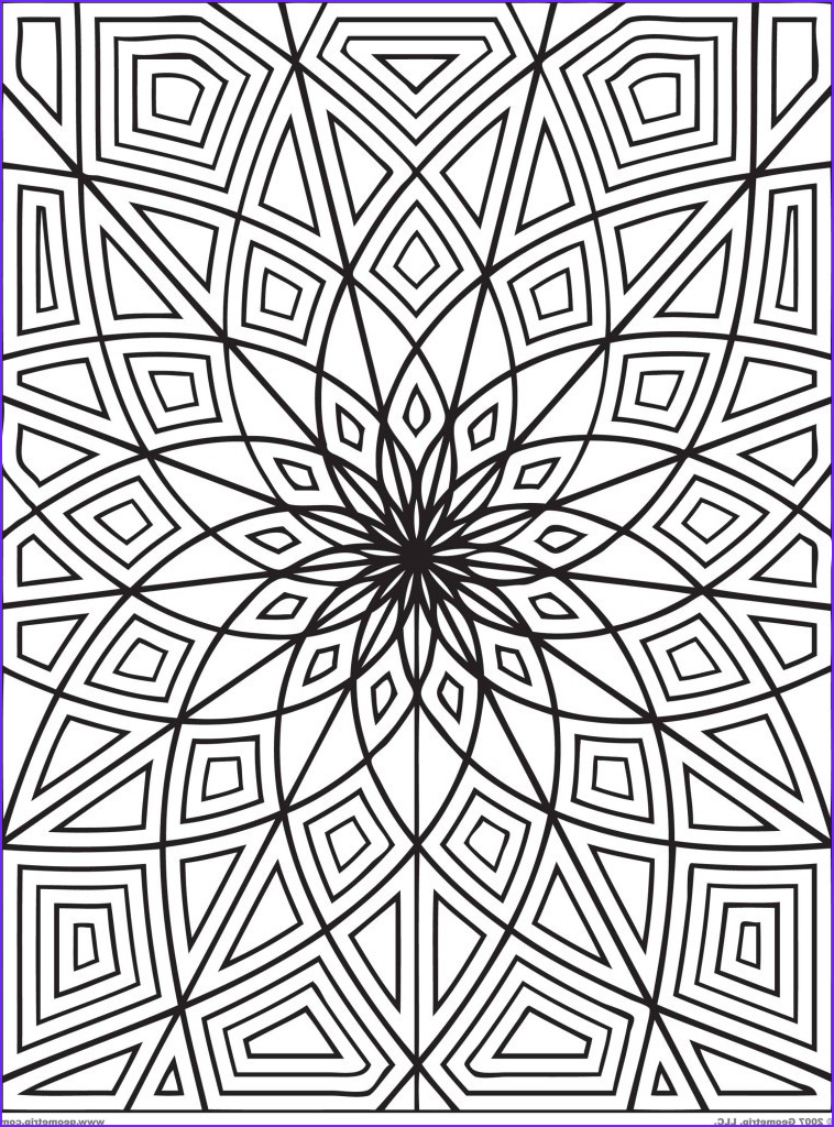 these printable mandala and abstract coloring pages relieve stress and