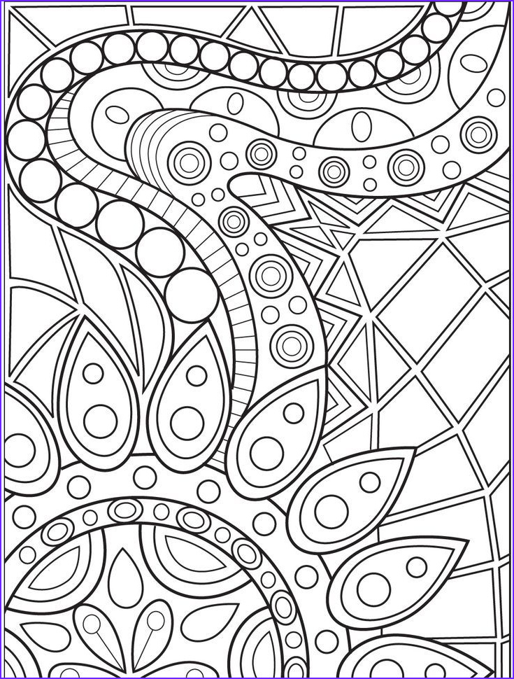 Printable Coloring Pages for Adults Abstract Inspirational Gallery Abstract Coloring Page On Colorish Coloring Book App for