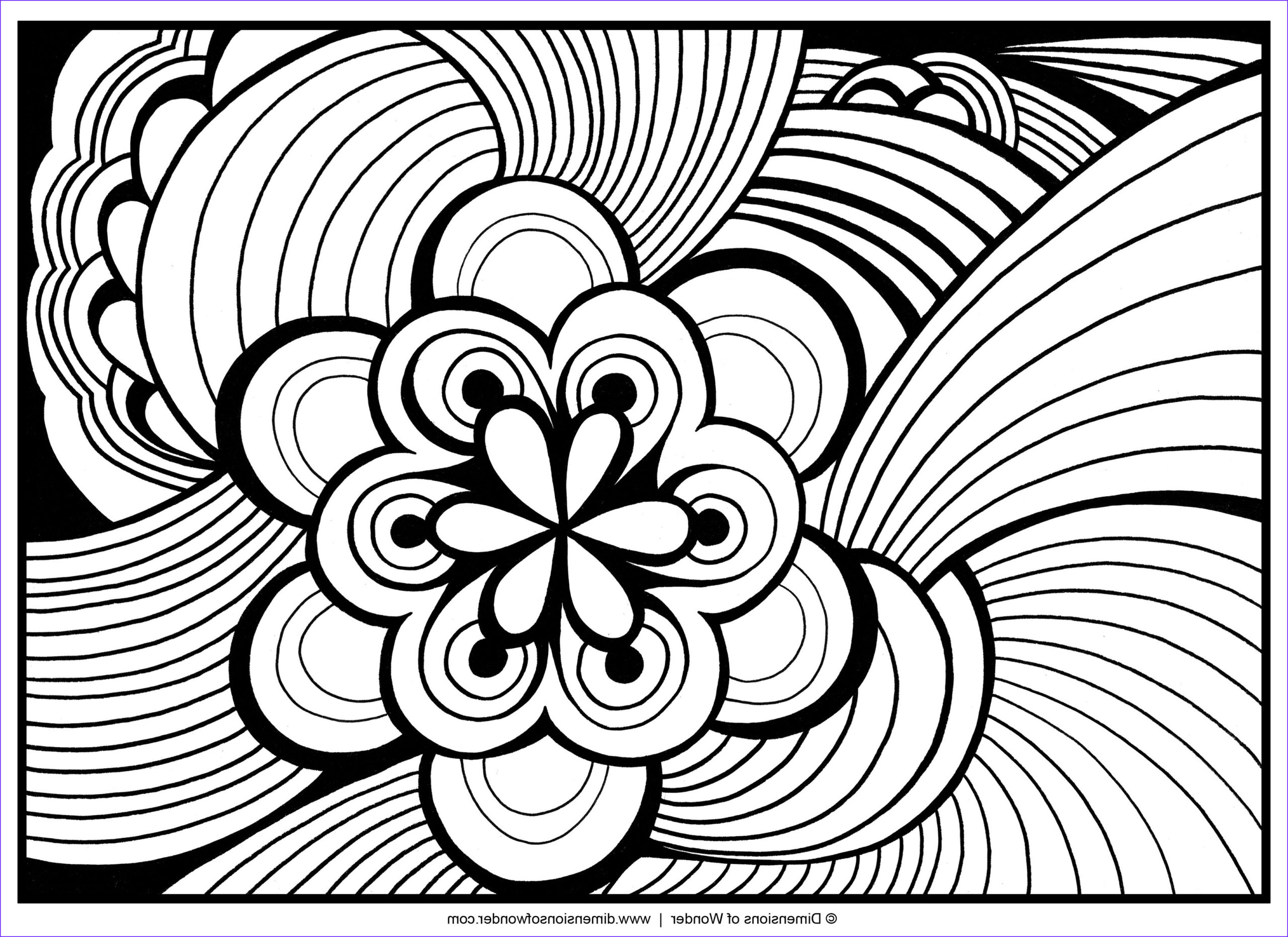 Printable Coloring Pages for Adults Abstract Luxury Stock Abstract Coloring Pages Free