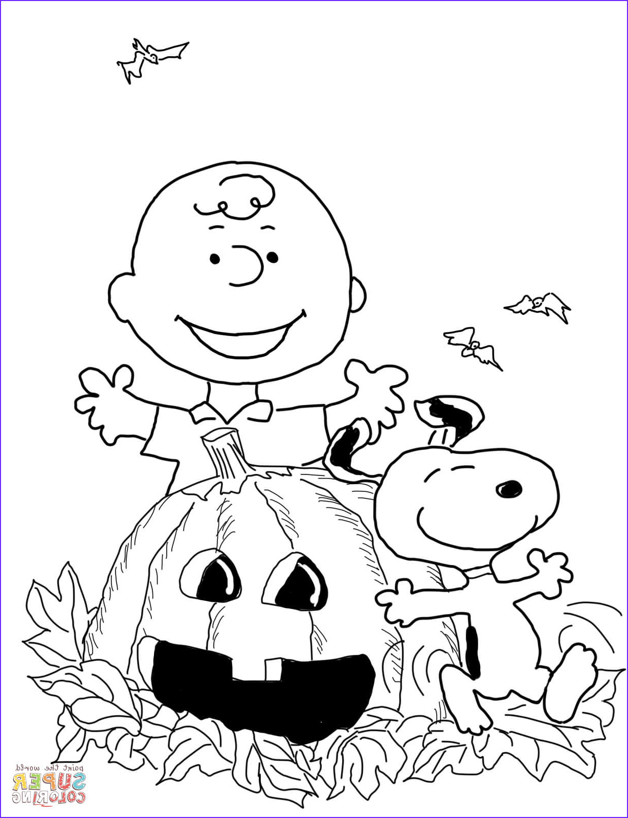 Printable Coloring Pages Halloween Beautiful Photos Charlie Brown Halloween Coloring Page