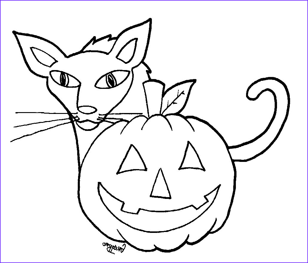 Printable Coloring Pages Halloween Unique Stock Free Archives
