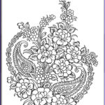 Printable Complex Coloring Pages New Photography Plex Flower Coloring Pages Coloring Home