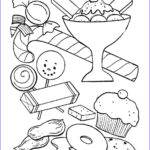 Printable Free Coloring Pages Best Of Image Sweets Coloring Pages For Childrens Printable For Free