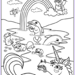 Printable Kids Coloring Pages Best Of Gallery Free Printable Rainbow Coloring Pages For Kids