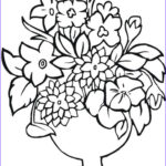 Printable Kids Coloring Pages Cool Collection Free Printable Flower Coloring Pages For Kids Best