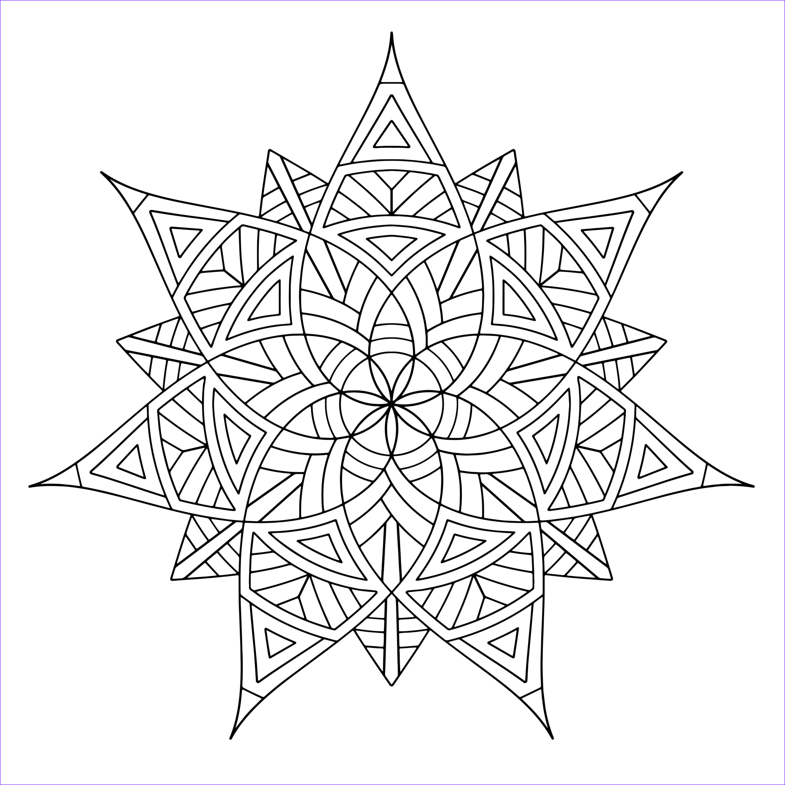 Printable Mandala Coloring Pages Awesome Photos Free Printable Geometric Coloring Pages for Adults