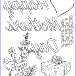 Printable Mothers Day Coloring Page New Gallery Free Printable Mother S Day Coloring Pages 4 Different