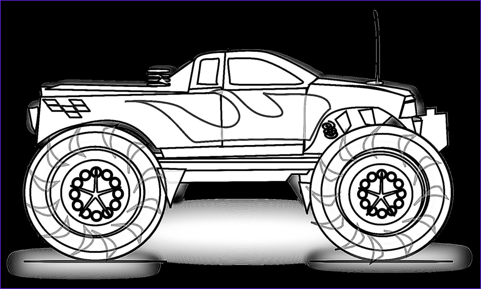 Printable Truck Coloring Pages Inspirational Image Monster Truck Coloring Pages for Boys Free Coloring Pages