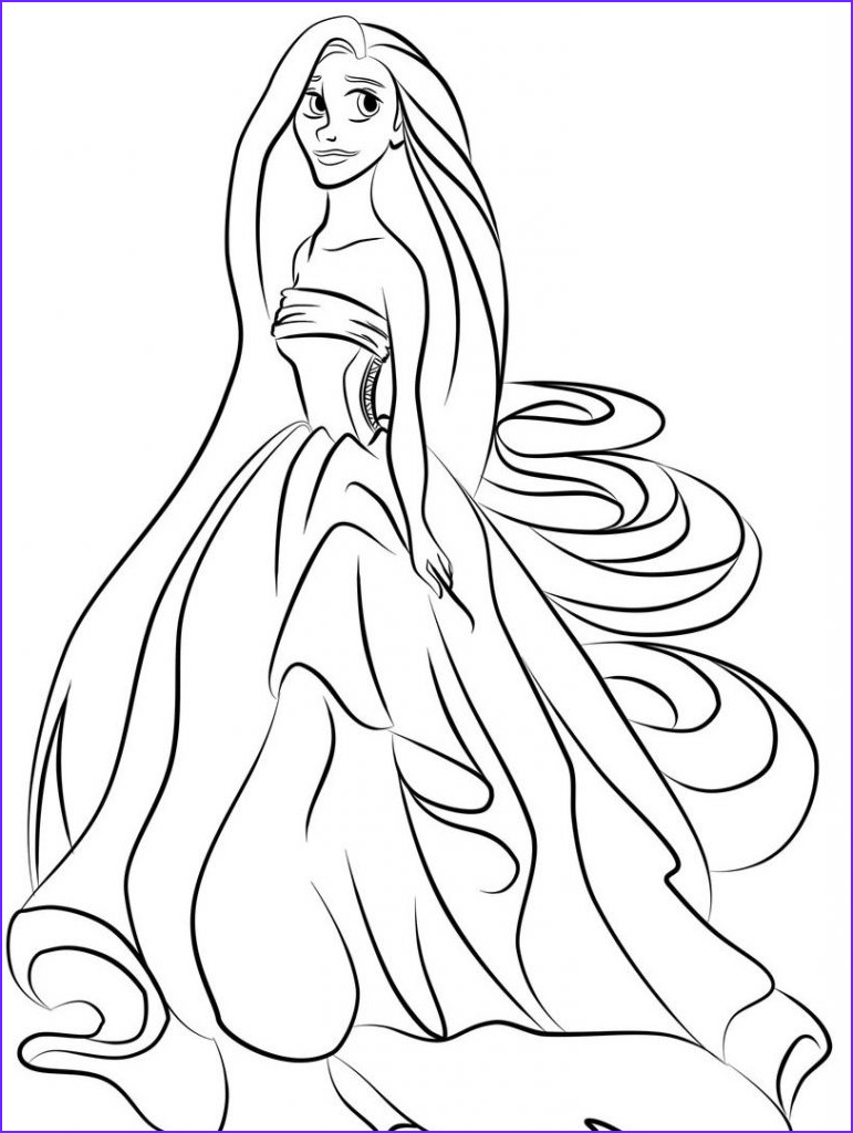 Printables Coloring Pages Best Of Photos Princess Coloring Pages Best Coloring Pages for Kids