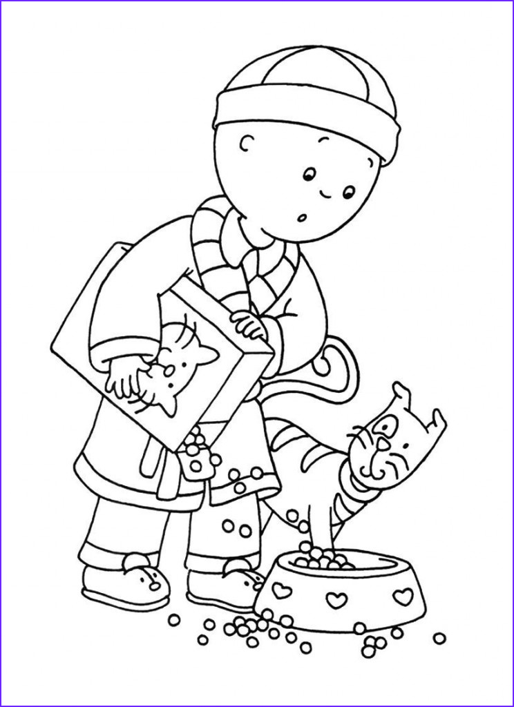 Printables Coloring Pages Luxury Photos Free Printable Caillou Coloring Pages for Kids
