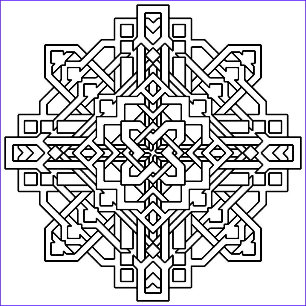Printables Coloring Pages New Gallery Free Printable Geometric Coloring Pages for Kids
