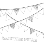 Printables Free Coloring Pages Luxury Stock Garland Coloring Pages To And Print For Free