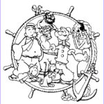 Printables Free Coloring Pages New Photos Popeye Coloring Pages