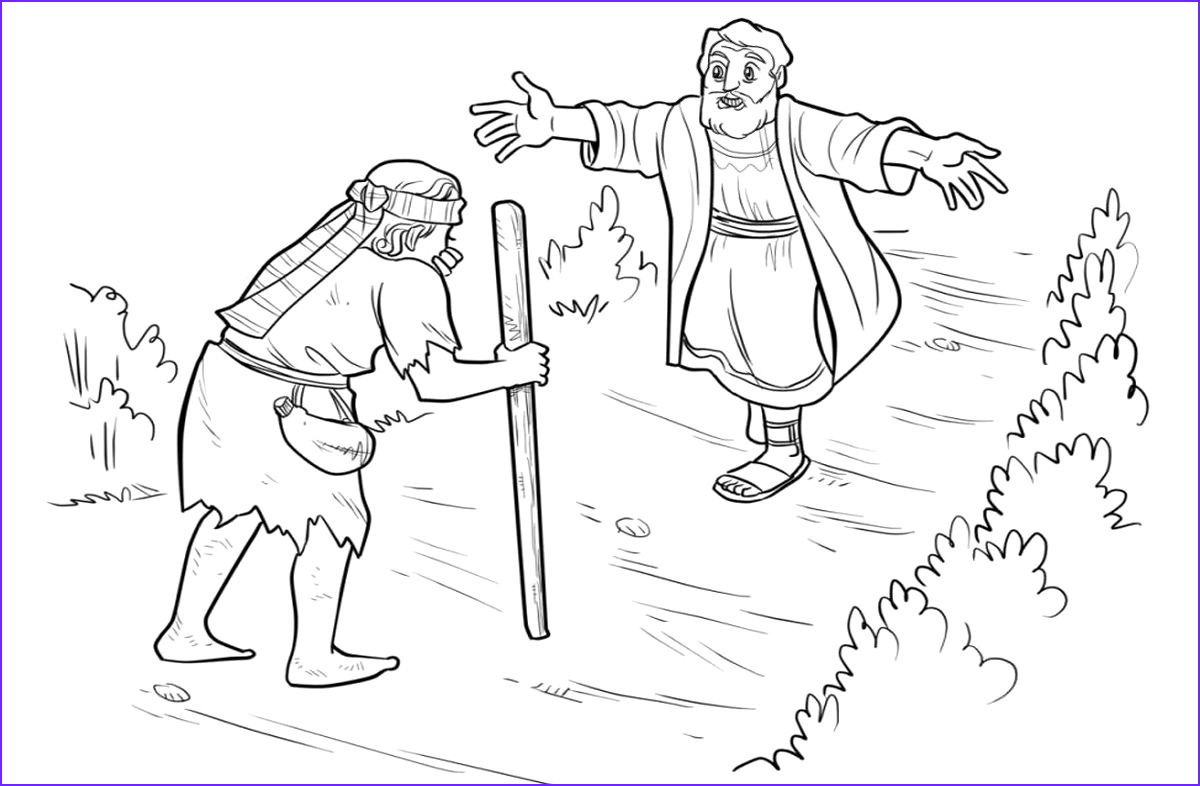 Prodical son Coloring Page Beautiful Gallery Free Christian Coloring Pages for Kids Children and