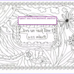 Psalm 23 Coloring Page New Photography Psalm 23 4 Downloadable Scripture Coloring Page I Will