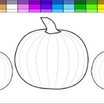 Pumpkin Coloring Pages Beautiful Stock Learn Colors For Kids And Color Halloween Pumpkin Coloring