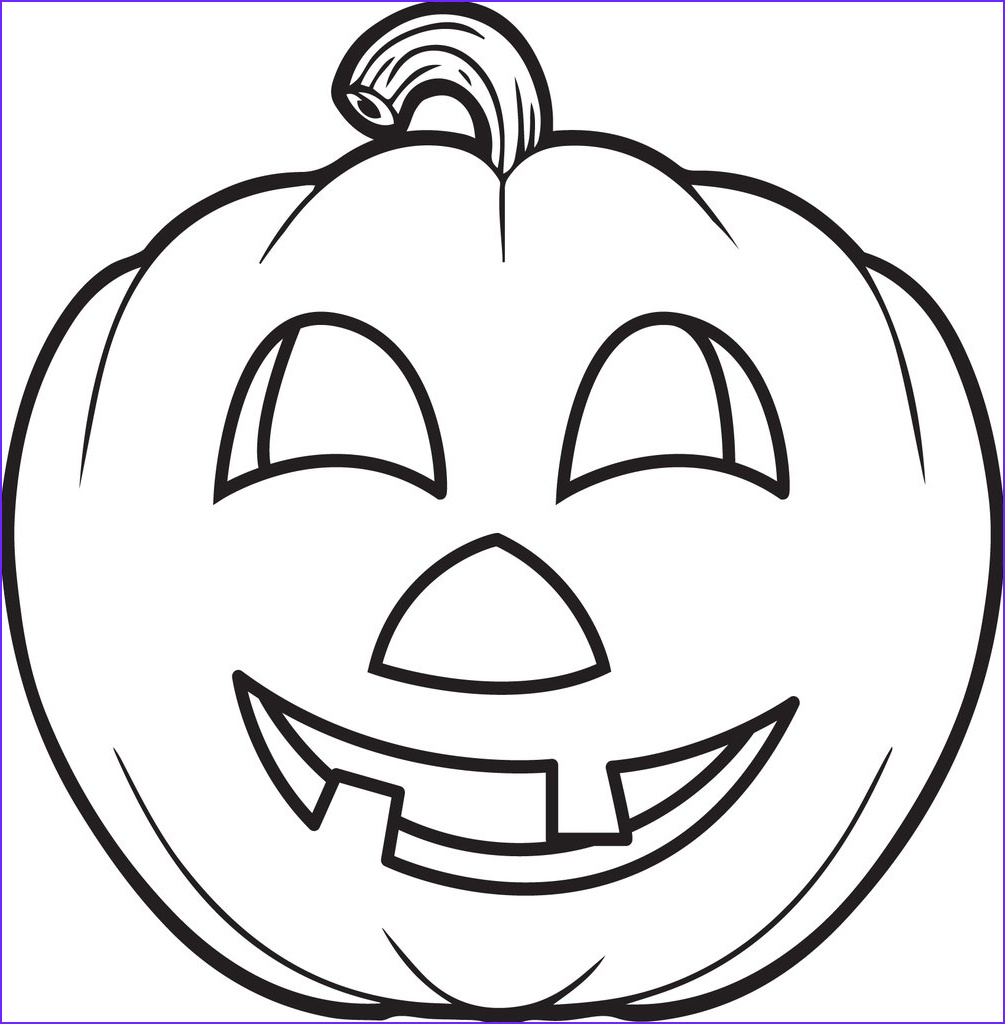 Pumpkin Coloring Pages Elegant Stock Free Printable Pumpkin Coloring Page for Kids 5 – Supplyme