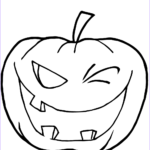 Pumpkin Coloring Pages To Print Best Of Collection Halloween Pumpkin Winking Coloring Page