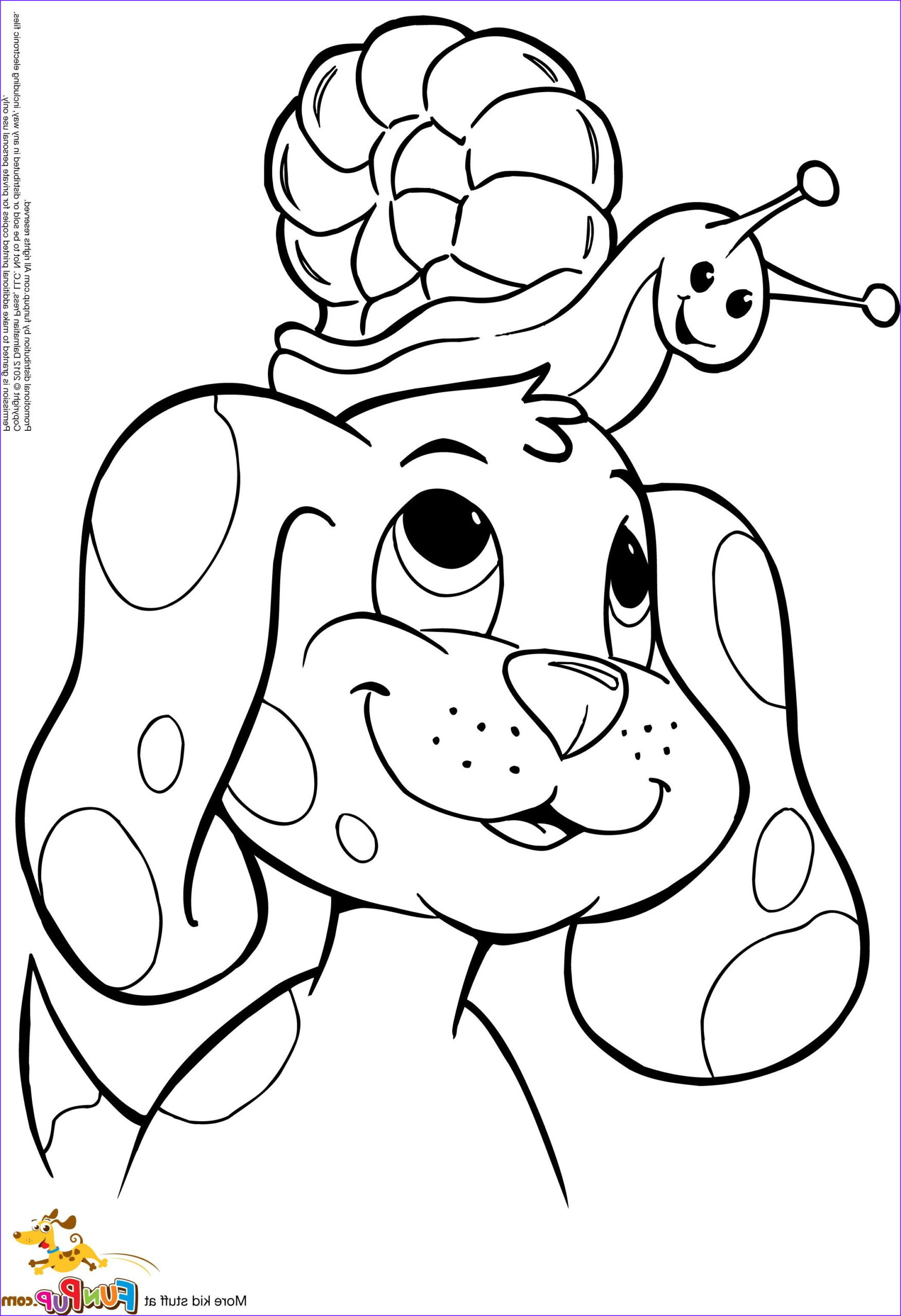 Puppy Coloring Book Cool Collection Puppy 1 0 Colouring Pages Clip Art Miscellaneous