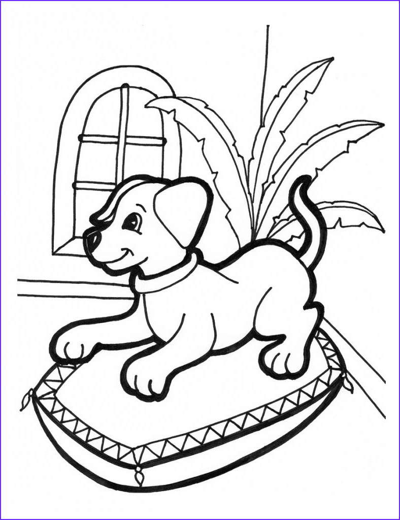 Puppy Coloring Books Unique Collection Free Printable Puppies Coloring Pages for Kids