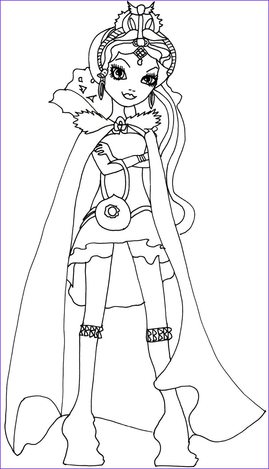 Queen Coloring Page Beautiful Photos Free Printable Ever after High Coloring Pages Raven Queen
