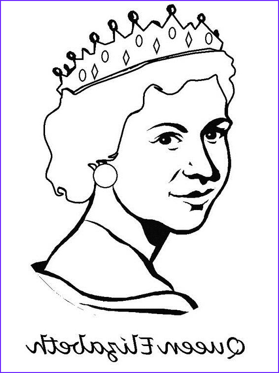 Queen Coloring Pages New Collection Queen Elizabeth Diamond Jubilee Coloring Pages Family