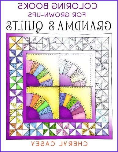 coloring books for quilters