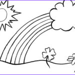 Rainbow Coloring Page Awesome Photos Coloring Pages For Kids Rainbow Coloring Pages