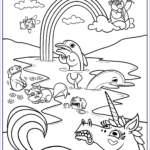 Rainbow Coloring Page Elegant Gallery Free Printable Rainbow Coloring Pages For Kids