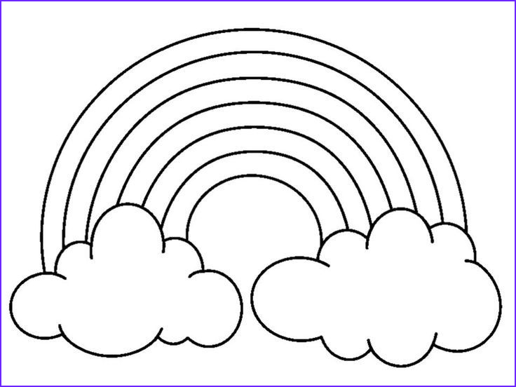 Rainbow Coloring Page Elegant Photos Rainbow Coloring Pages with Color Words