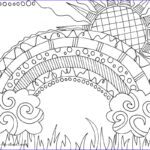 Rainbow Coloring Page Inspirational Collection This Gorgeous Rainbow Colouring Page Is Great For Learning