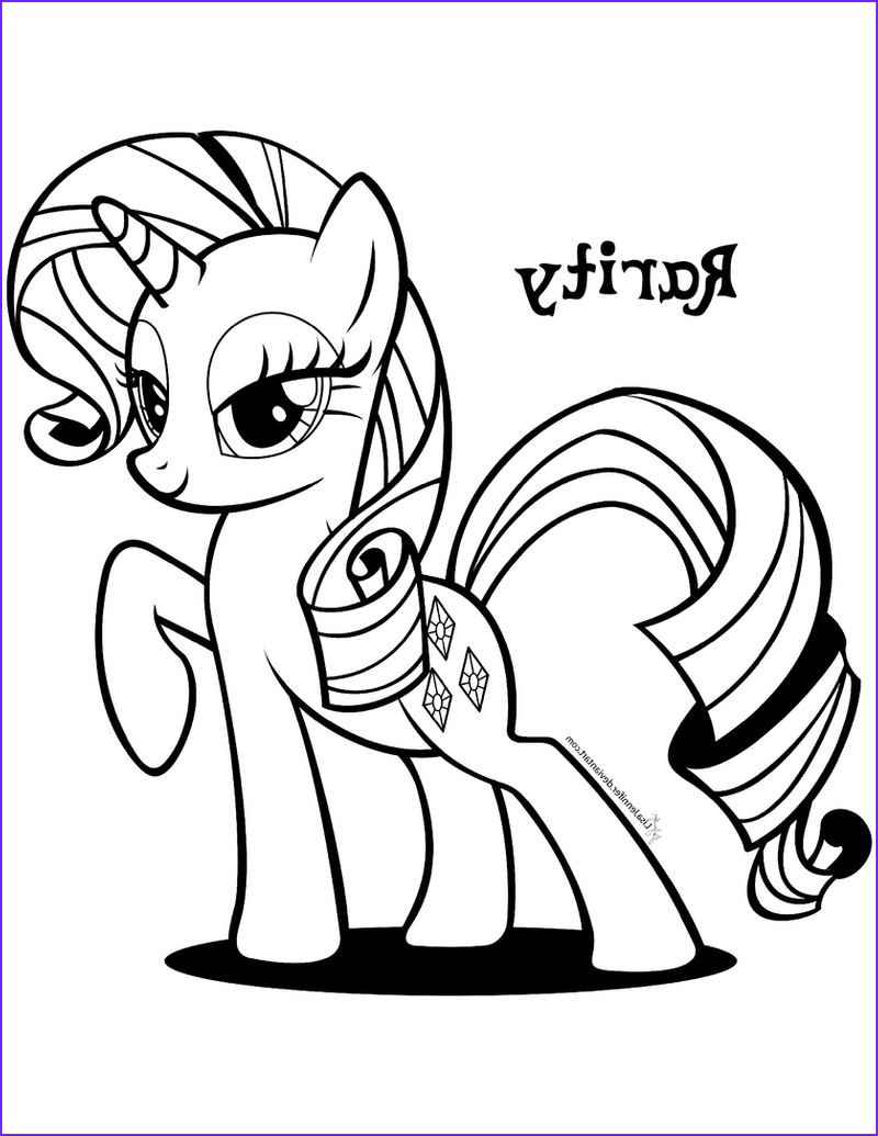 Rarity Coloring Page Awesome Photos Mlp On Coloringpagesrus Deviantart