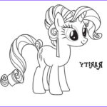 Rarity Coloring Page Best Of Images Rarity Coloring Page