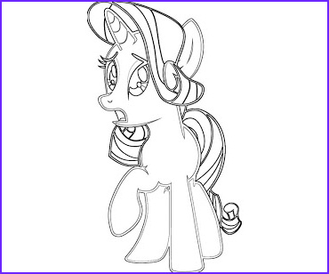 Rarity Coloring Page Elegant Photos 6 Rarity Coloring Page