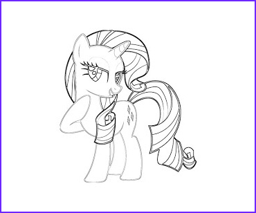 Rarity Coloring Page Luxury Photography 13 Rarity Coloring Page