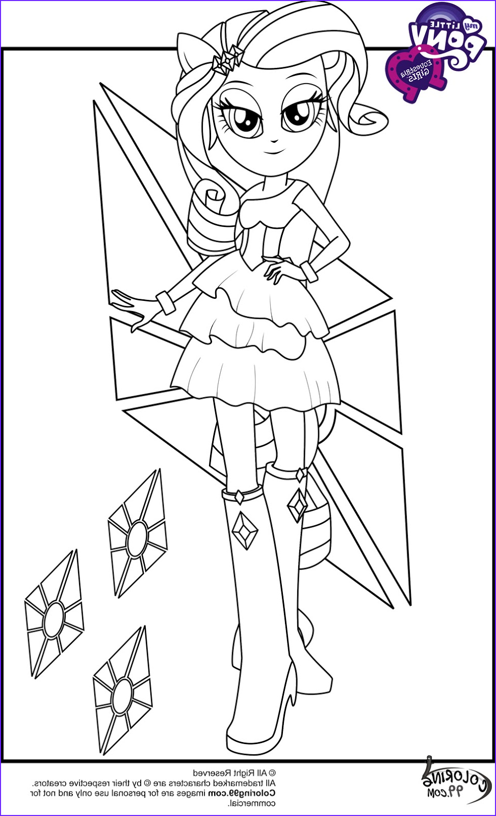 Rarity Coloring Page New Collection My Little Pony Equestria Girls Coloring Pages