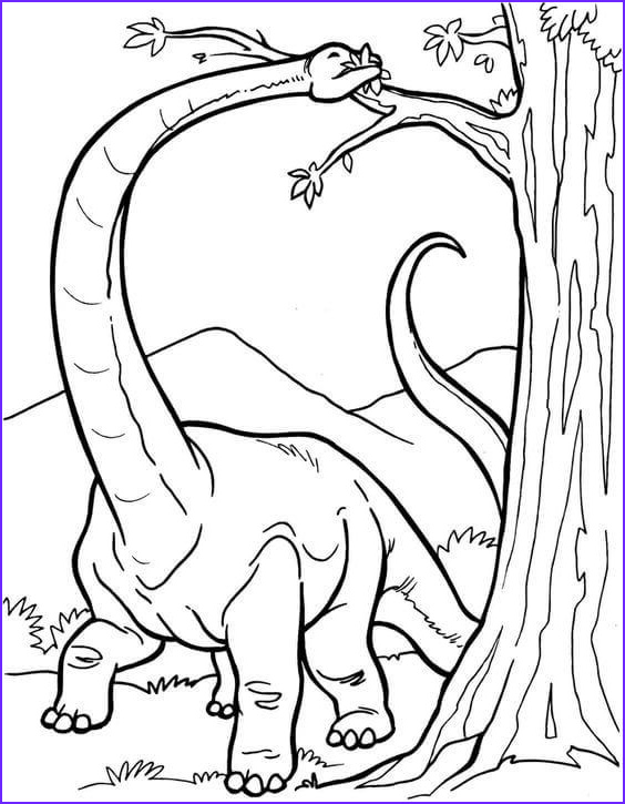 Realistic Dinosaur Coloring Pages Cool Collection 35 Free Printable Dinosaur Coloring Pages