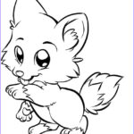 Realistic Fox Coloring Pages Beautiful Images A Very Cute Fox Kids Coloring Pages