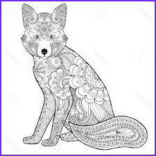 Realistic Fox Coloring Pages Beautiful Photos Coloring Pages for Adults Realistic Animals Google