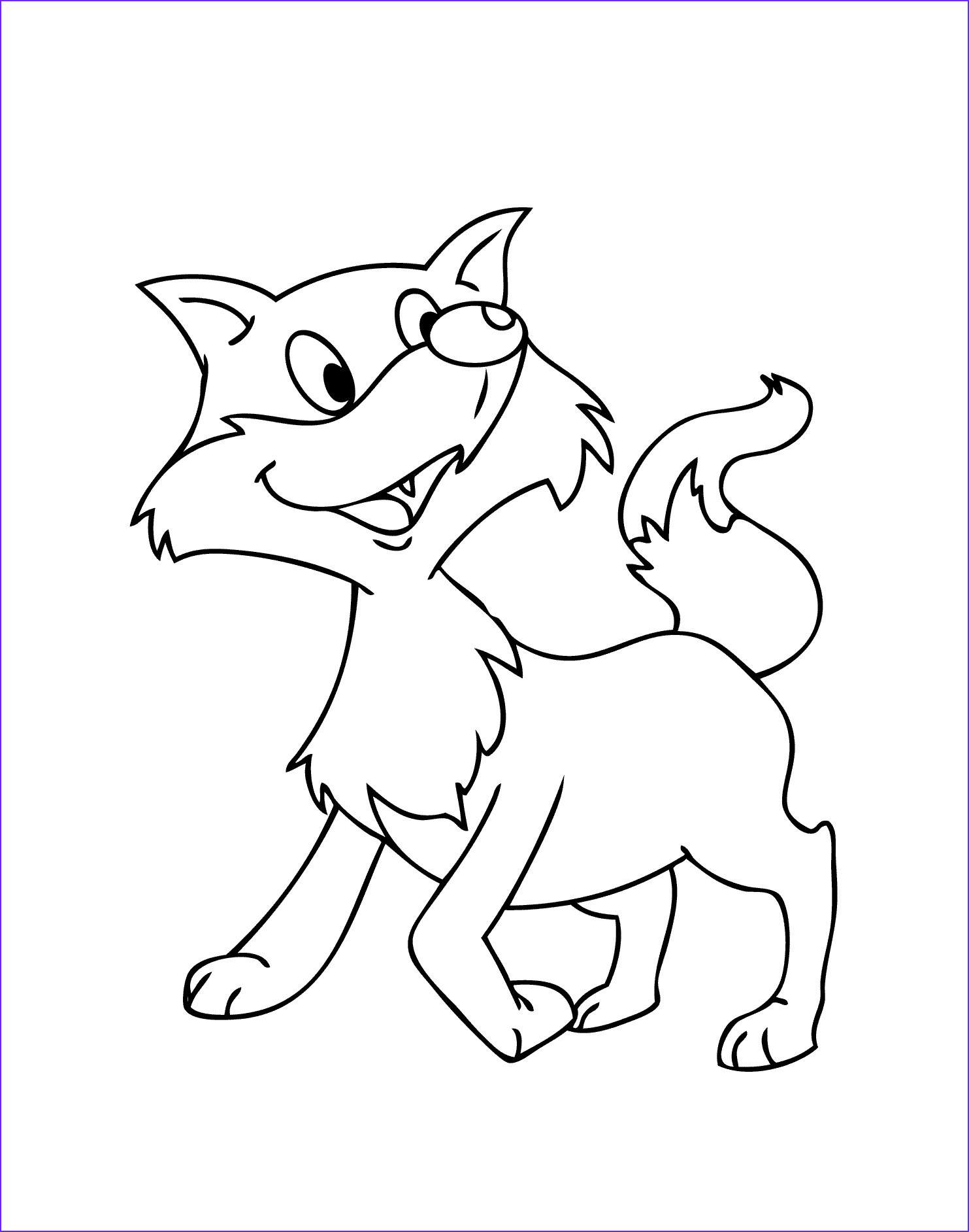 Realistic Fox Coloring Pages Inspirational Stock Realistic Fox Coloring Pages at Getcolorings