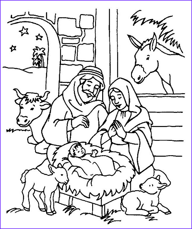 Religious Christmas Coloring Pages Cool Images 9 Best Nativity Images On Pinterest