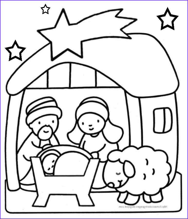 Religious Christmas Coloring Pages Unique Image Xmas Coloring Pages