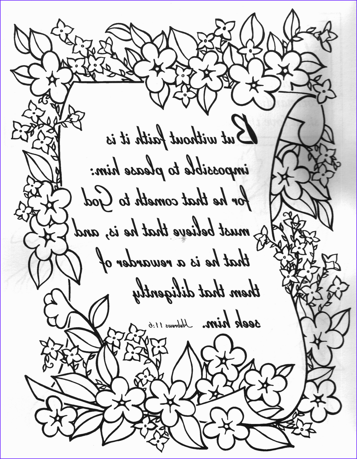 religious quotes coloring pages adult