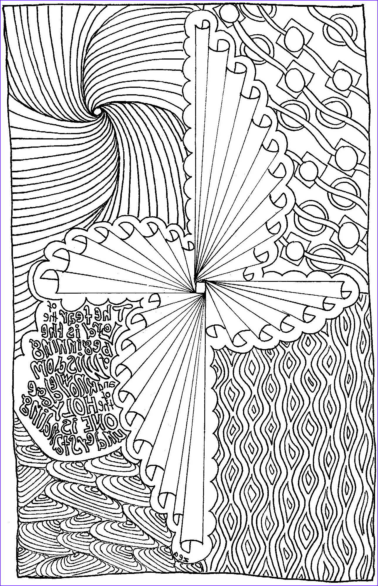 able colouring in book
