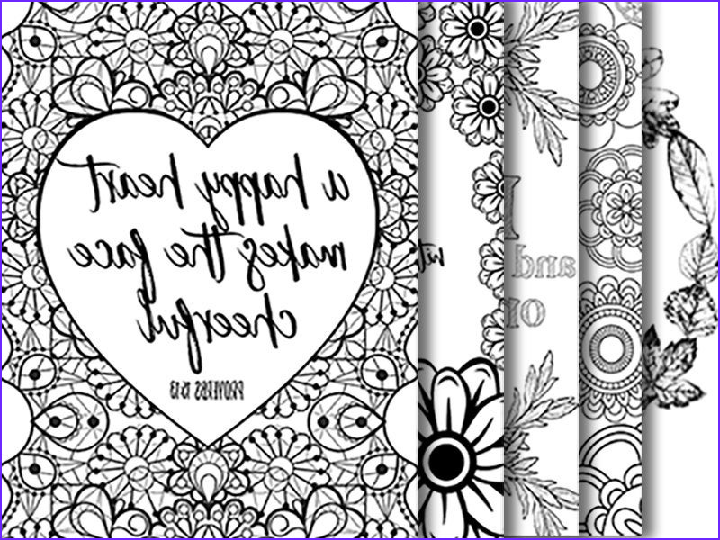 5 bible verse coloring pages set 2