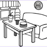 Restaurant Coloring Pages Inspirational Photos Fast Food Restaurant Coloring Pages